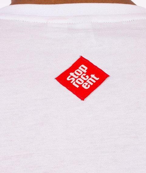 Stoprocent-Normalny T-Shirt Biały