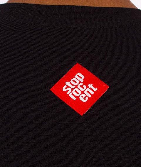 Stoprocent-Normalny T-Shirt Czarny