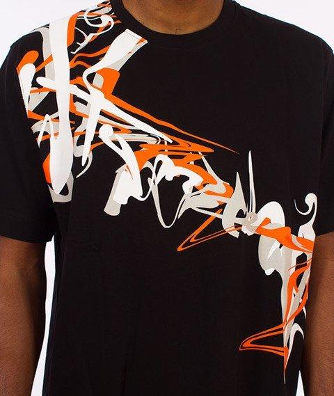 Stoprocent-Oil Tag T-shirt Czarny