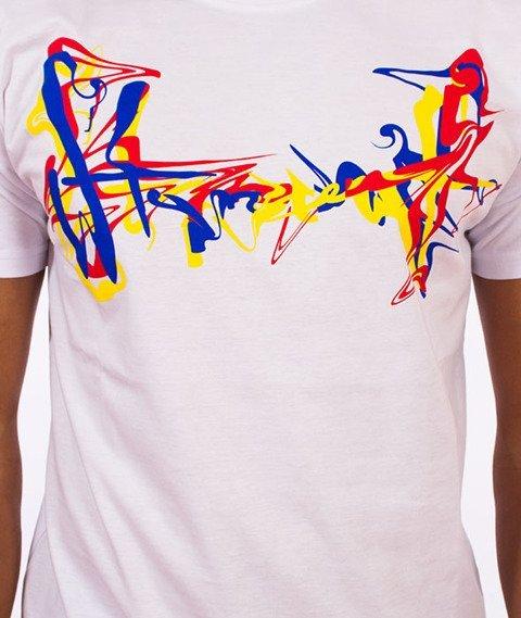 Stoprocent-Oiltag T-Shirt Biały