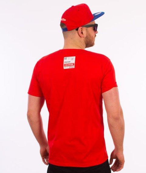 Stoprocent-Pervert T-Shirt Czerwony