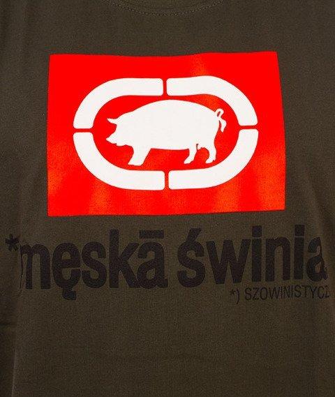 Stoprocent-Pig T-Shirt Khaki