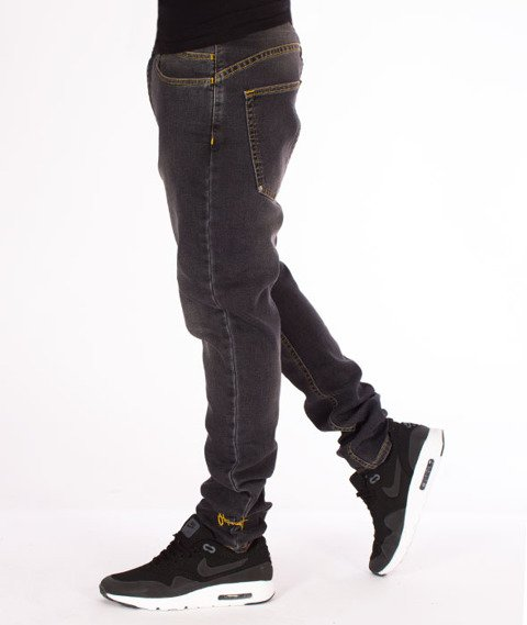 Stoprocent-SJC Academic Jeans Black