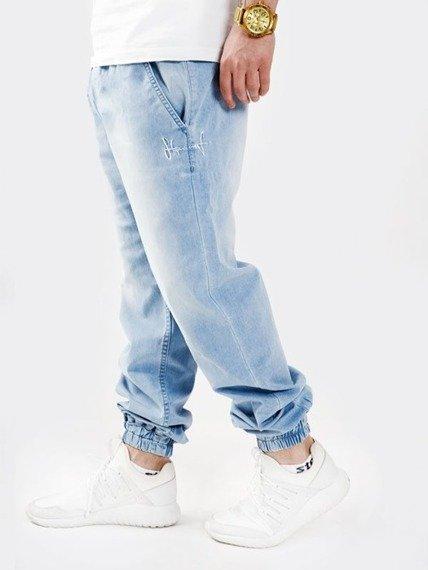Stoprocent-SJJ Jogger Spodnie Jeansowe Blue