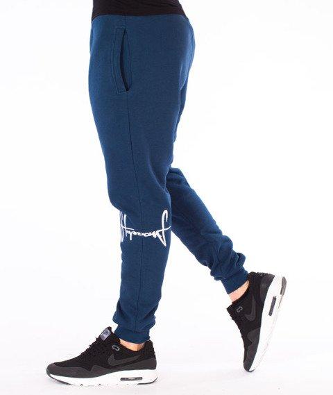 Stoprocent-SMC Jogger Kneetag17 Spodnie Granatowe