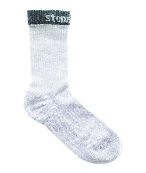 Stoprocent-STPR16 Skarpety Długie Białe