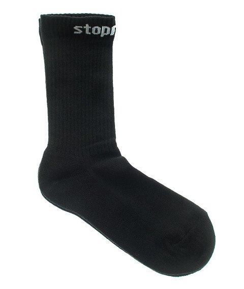Stoprocent-STPR16 Skarpety Długie Czarne