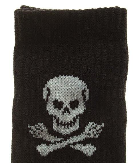 Stoprocent-Skull Skarpetki Black