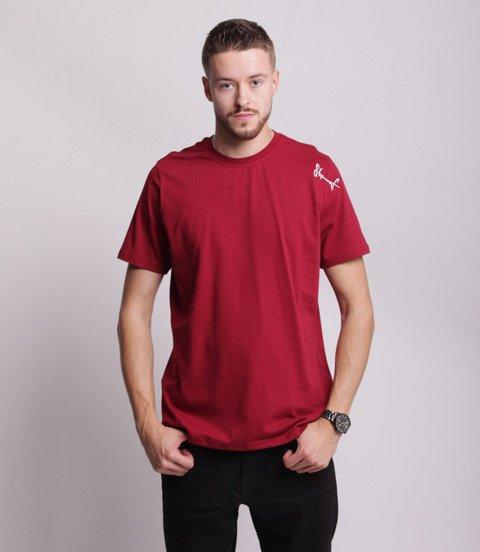 Stoprocent TMR SMALLTAG T-Shirt Bordowy