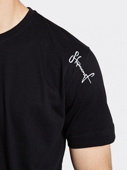 Stoprocent TMS Base Smalltag Slim T-shirt Czarny