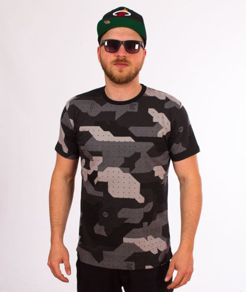 Stoprocent-TMS Camu T-Shirt Black