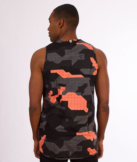 Stoprocent-TMT Tank Top Camo18 Coral