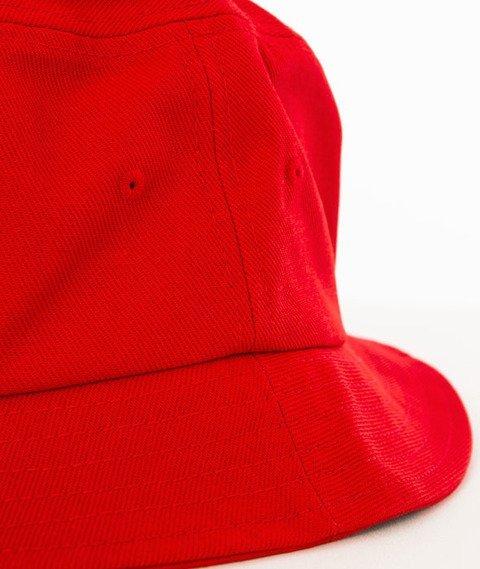 Stoprocent-Tag Bucket Hat Czerwony