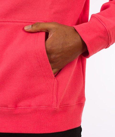 Stussy-Basic Stussy Hood Bluza Kaptur Dark Pink