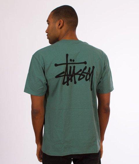 Stussy-Basic Stussy T-Shirt Sage