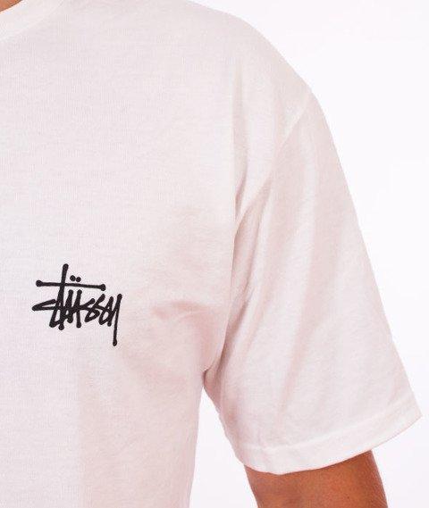 Stussy-Basic Stussy T-Shirt White