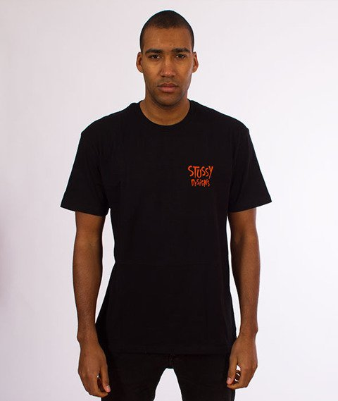 Stussy-Broken World T-Shirt Black