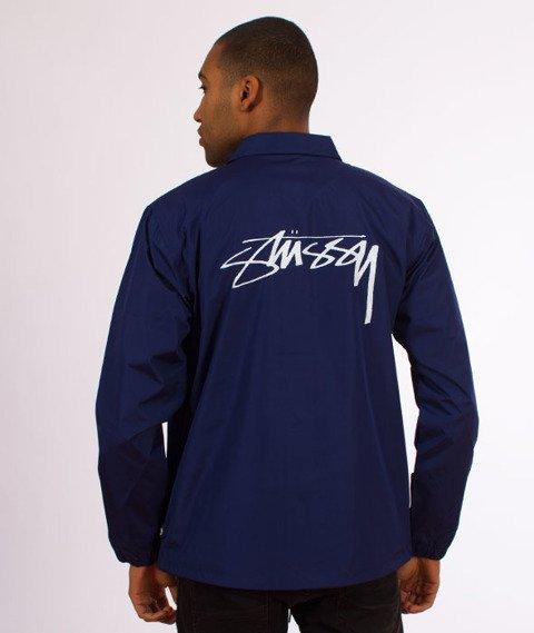 Stussy-Cruize Coach Jacket Kurtka Dark Blue