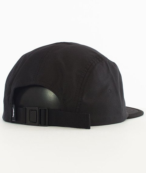 Stussy-Crushable Camp Cap 5 Panel Czapka Black