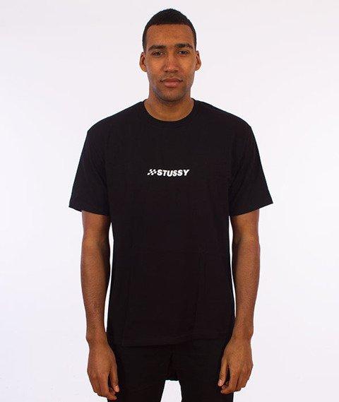 Stussy-Finish T-Shirt Black