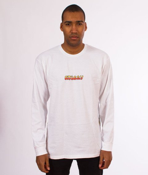Stussy-High Power Sound Longsleeve White