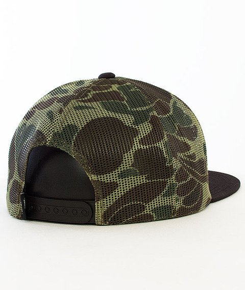 Stussy-International Mesh Snapback Camo