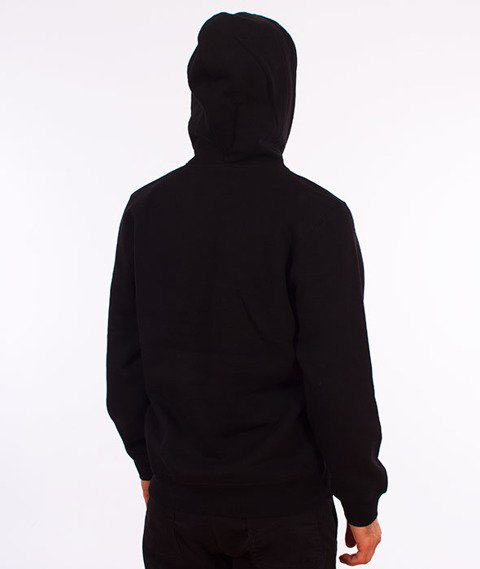 Stussy-Smooth Stock Hood Bluza Kaptur Black