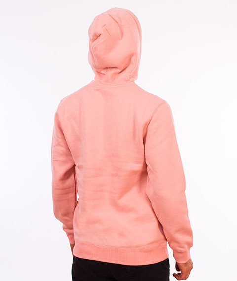 Stussy-Smooth Stock Hood Bluza Kaptur Dusty Rose