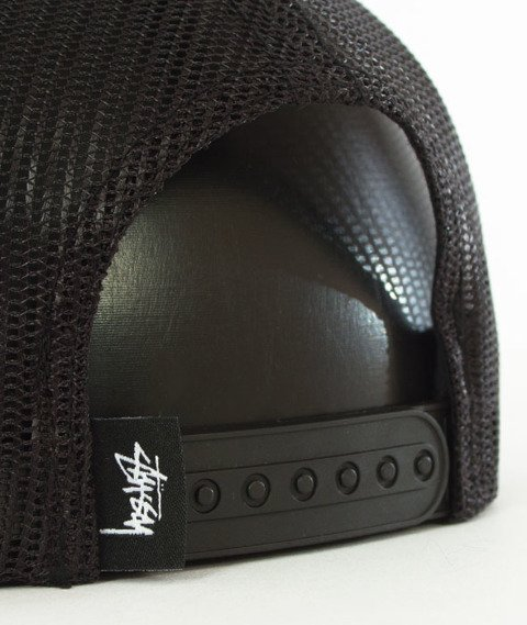 Stussy-Smooth Stock Trucker Cap Czapka Black