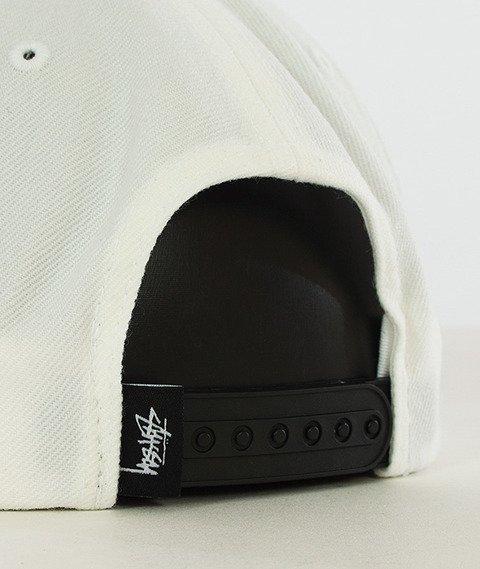 Stussy-Ss Link Fa16 Snapback Biały