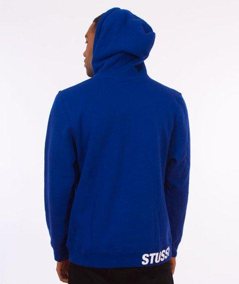 Stussy-Standard Hood Bluza Kaptur Dark Blue
