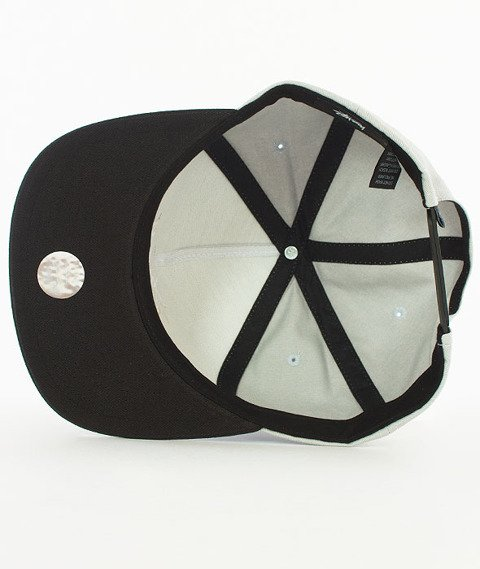 Stussy-Stock Lock Sp17 Snapback Czapka Black/Grey