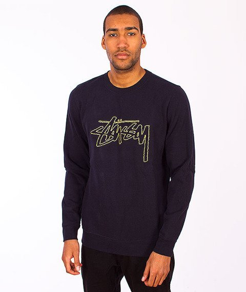 Stussy-Stock Outline Navy