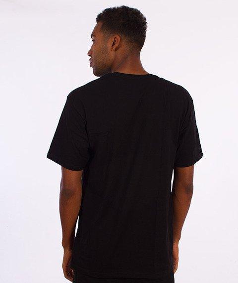 Stussy-Stock T-Shirt Czarny