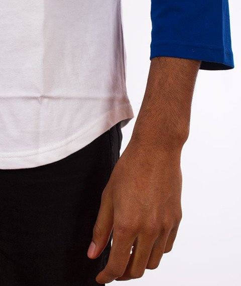 Stussy-Surfman Dot Raglan Jersey Blue