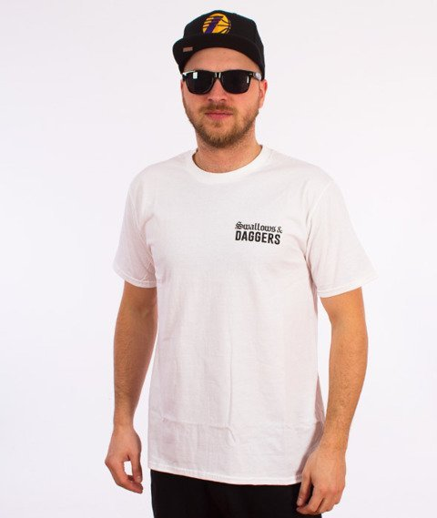 Swallows&Daggers-I Feel Like Pablo DGAF T-Shirt Biały