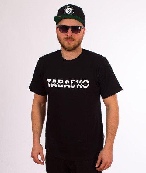 Tabasko-Cut T-Shirt Czarny