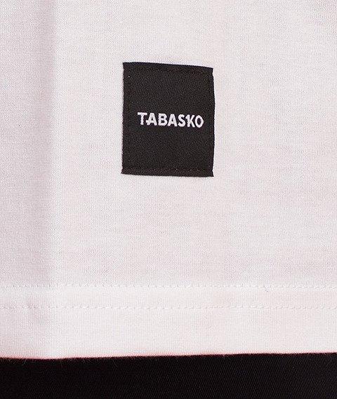 Tabasko-Disc Tank-Top Biały