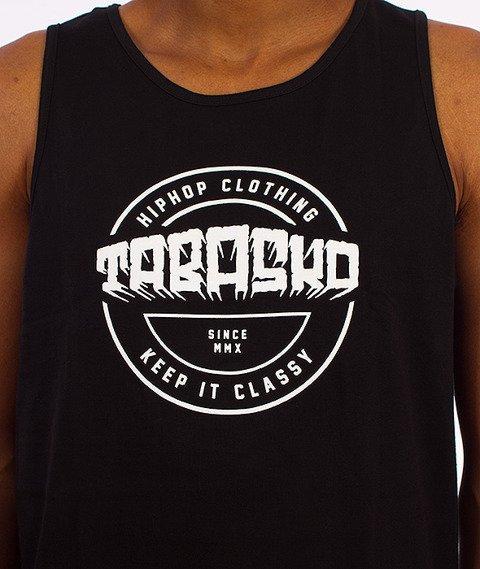 Tabasko-Disc Tank-Top Czarny