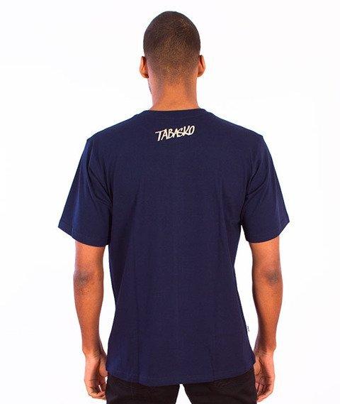 Tabasko-Hearts T-Shirt Granatowy