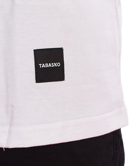 Tabasko-Outline T-Shirt Biały