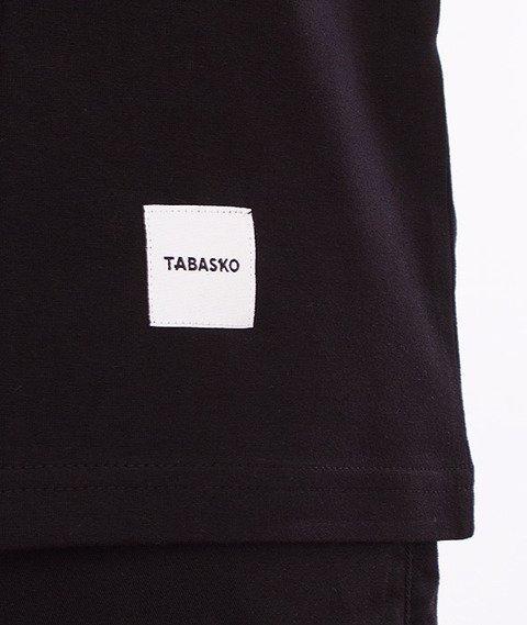 Tabasko-Outline T-Shirt Czarny