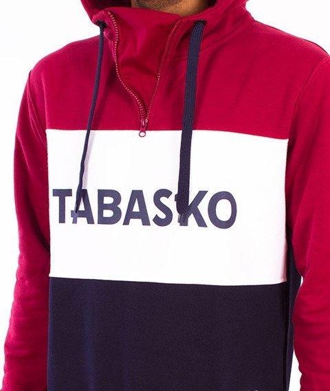 Tabasko-Panel Kaptur Bordowo/Granatowy