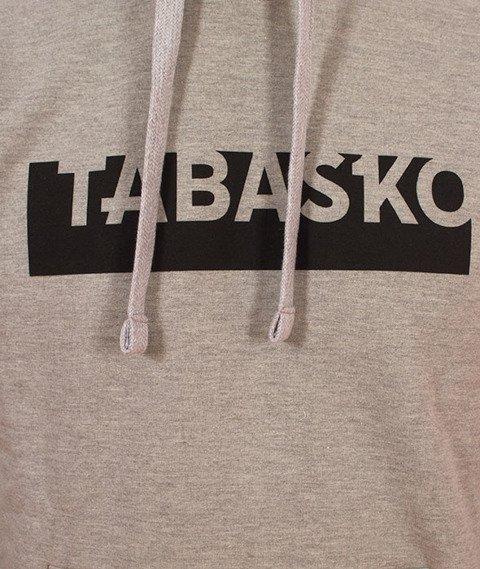 Tabasko-Rectangle Bluza Kaptur Szara