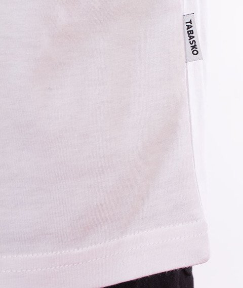Tabasko-Square T-Shirt Biały