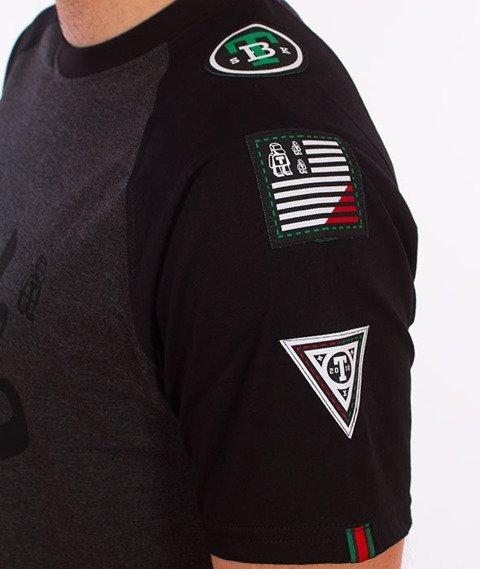Tabasko-TBSK T-Shirt Grafitowy/Czarny