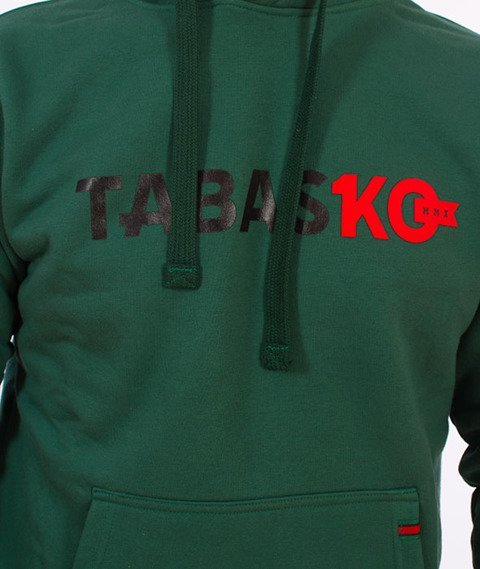 Tabasko-TabasKO Bluza Kaptur Zielona
