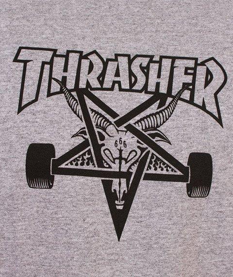 Thrasher-SK8 Goat T-Shirt Szary