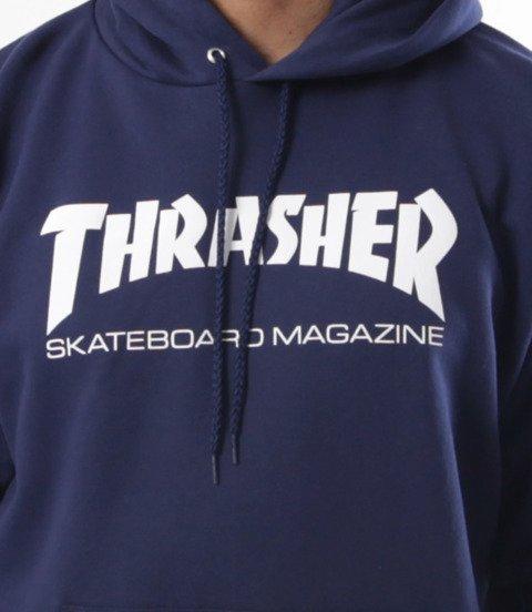 Thrasher-Skate Mag Bluza Kaptur Granatowa