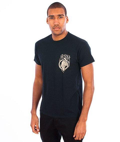 Trash-Orzeł Biały T-shirt Czarny